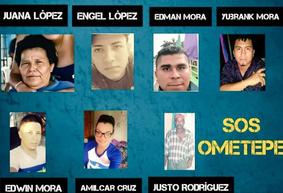 Presos políticos Ometepe