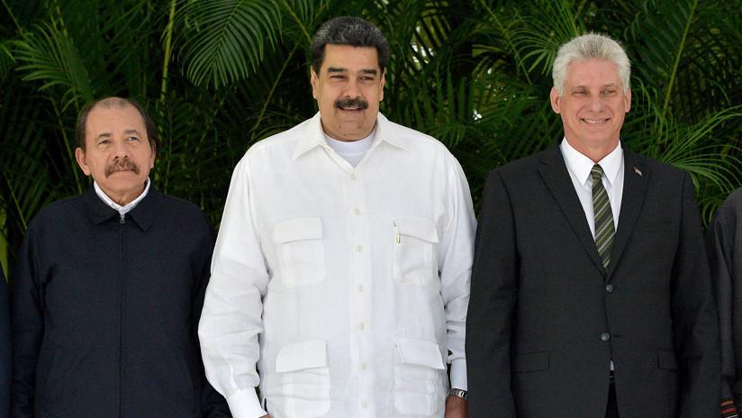 VENEZUELA-CUBA-NICARAGUA