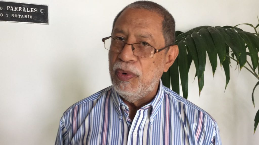 Edgard Parrales, ex embajador de la OEA