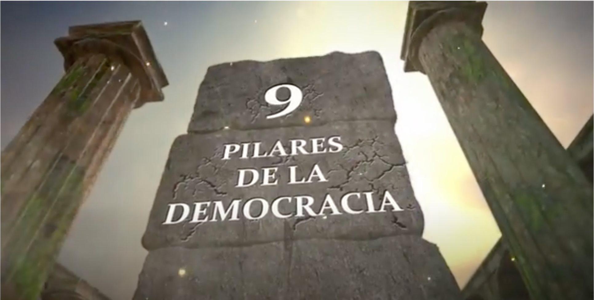9 pilares de la democracia