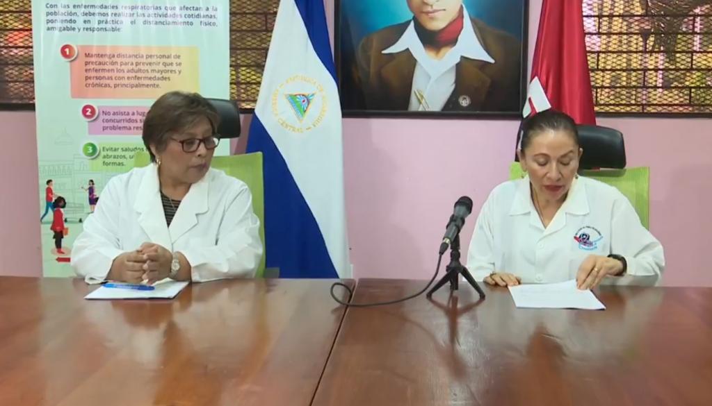 Martha Reyes y Sonia Castro