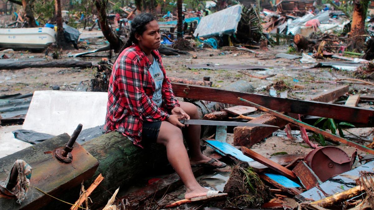 Costa Caribe afectada por Iota