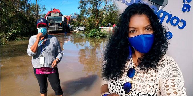 Marisol Balladares periodista de Radio Corporación