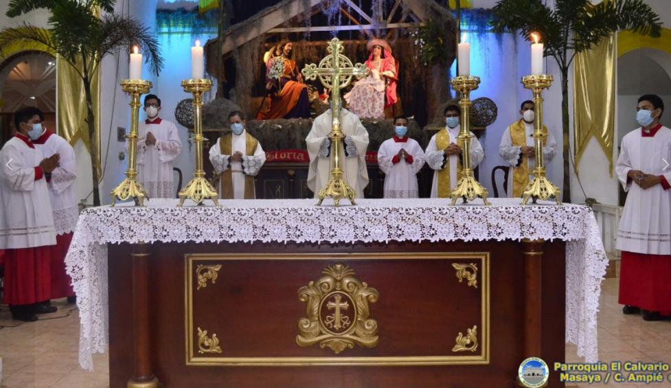 parroquia El Calvario Masaya