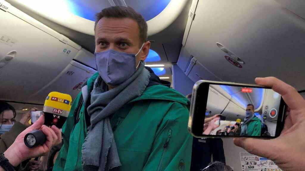 líder de la oposición rusa Alexéi Navalny