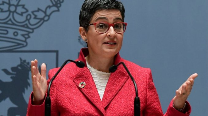 ministra de Asuntos Exteriores, UE y Cooperación de España, Arancha González Laya