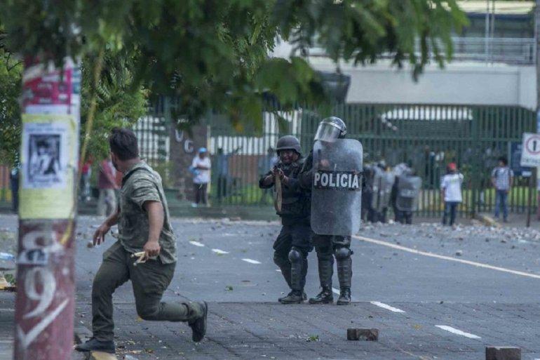 Foto represión