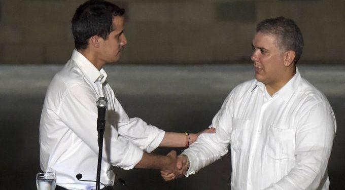 Guaido-Duque-COLOMBIA- VENEZUELA