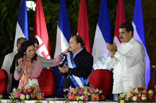 ROSARIO MURILLO VICEPRESINDETA DE NICARAGUA